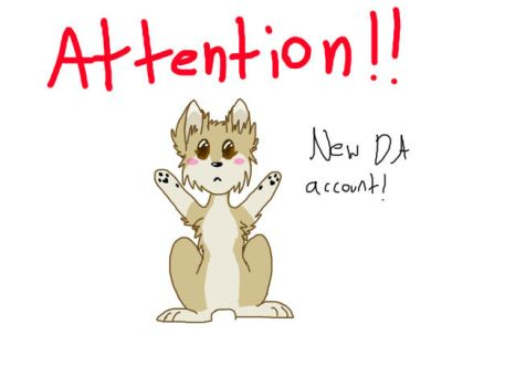 New Account!!!!!! by LuneTheUmbreon