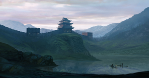 Chinese wall by Chander-lieve