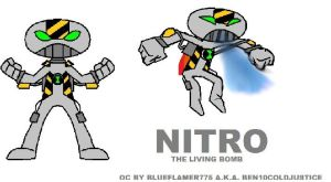Nitro the living bomb by Ben10Coldjustice