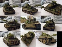 German Tiger Tank by buster126