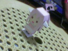 fanart papercraft thingy by ayrra