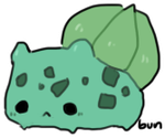 001 bulbasaur by pinkbunnii