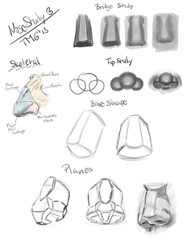 Nose Study No.3 by Room-382