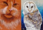 Aceo commish bunch 1 by Leftblind