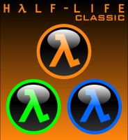 Half-Life Classic Icons by firba1