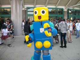 AX11: Servbot :D by Sonicbandicoot