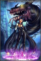 Bayonetta by diabolumberto