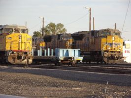 Lordsburg NM Union Pacific yard Operation by stationmaster101