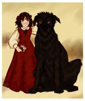 Evelyn and Fergus I - Collab by JosieCarioca