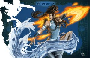 Avatar Korra by DosanDesign