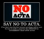 Stop ACTA!!! by FilipaTheHedgehog