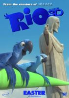 Rio Movie Poster by Alecx8