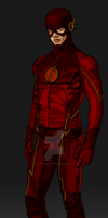 The Scarlet Speedster by IronAvenger1234