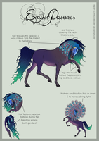 The Equus Pavonis by SweetLittleVampire