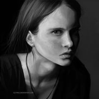 Portrait Study by Eltyria