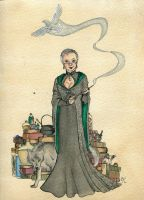 Prof. Hayden of Slytherin by Kitty-Grimm