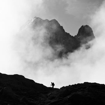 The hiker... by vincentfavre