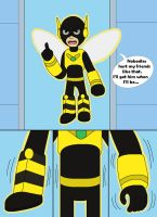 Bumblebee grow as Giant size 01-02 by MCsaurus