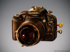 Steampunk 450D by Pavel-Matveev
