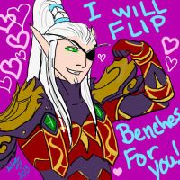 Valentine Card from Lor'themar by hclark