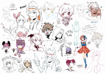 Sketch session 0725-0801 by creamboys
