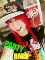 Party Hard by wolfgirl365
