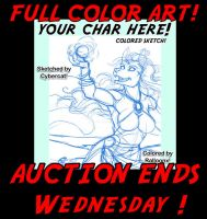 Auction Ends Wednesday ! by lady-cybercat