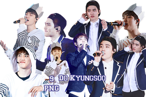 EXO Do Kyungsoo PNG Pack {The Lost Planet} by kamjong-kai