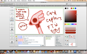 cardcaptoring on iScribble by tamakari-chan
