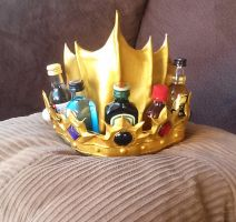 The Booze Crown by Petrichora