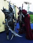 Cosplay Dovahkiin and Spawn by Zerios88