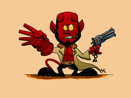 I Geek Weekly: HellBoy by JoshuaFitzpatrick