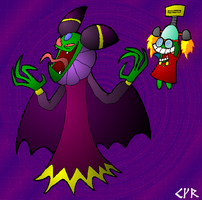 Cackletta and Fawful by super-mario
