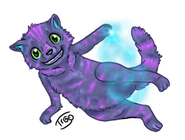 Eyris the cheshire by JubliantTroo