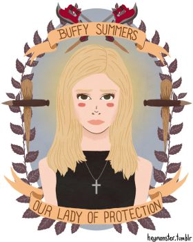 Buffy Summers by theblamelessflame