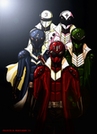 Power Rangers Elite by kyomusha