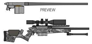 Sniper Rifle Design Contest by lemmonade