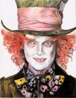 Mad Hatter by Il-Luna