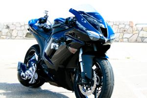 2007 ZX-6R on the Mountain by DANO599