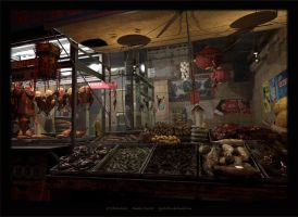 Chinese Market by HiddenSecrets666