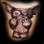 Mogwai Gizmo Tattoo by Natissimo