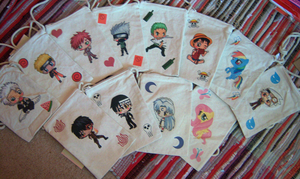 Fanart Chibi Purse on a String by IcyPanther1