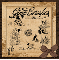 GIMP Brushes | OZ Scarecrow Brushes by TheAngeldove