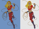 Wondergirl_FLATS by vest
