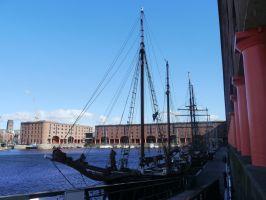 The Albert Docks by Party9999999