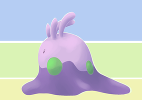 Lineless Goomy by Beetlebelle