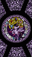 Twilight Stained Glass Wallpaper by TheGreatPony