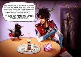 The Cake is a Lie by Lecidre