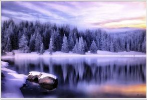 Winter Landscape by eskile
