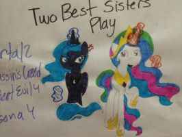 Two Best Sisters Play by BroStephanoYo